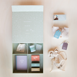 Memory box met naam en geboortegevens