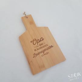 Broodplankje bamboe 'Opa'