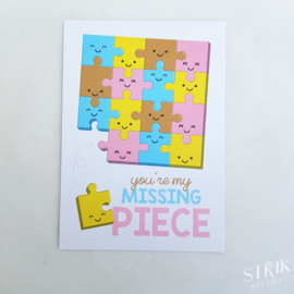 Kaartje 'You're my missing piece'