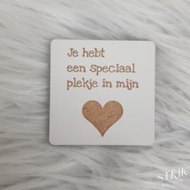Magneet 'Je hebt een speciaal plekje in mijn hart'