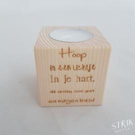 Theelichtje 'Hoop'