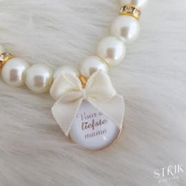 Armband 'Voor de liefste mama'