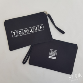 Make-uptas / clutch TOPJUF (geheime code)