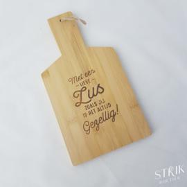 Broodplankje bamboe 'Zus'