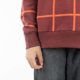 Grid XL Bordeaux French Terry SYAS