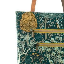 Oriëntal Garden Cotton Canvas Green Gables SYAS