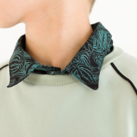 Solid Gray Aqua French Terry SYAS