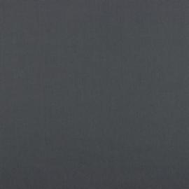 Katoen Poplin | Donkergrijs