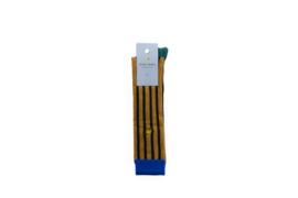 Sticky lemon Socks - Vertical stripes Caramel fudge