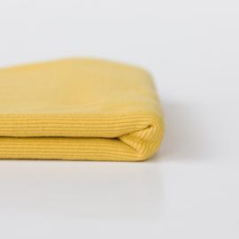 Ribbing Sulphur Yellow Boordstof See You At Six