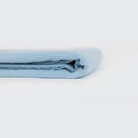 Ribbing Boordstof Fog Blue SYAS