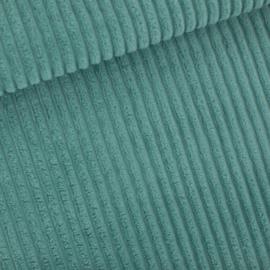 Corduroy Brede Rib Trellis Blue SYAS