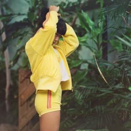 Ribbing Boordstof Goldfinch Yellow SYAS