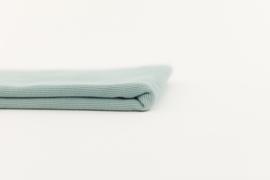 Ribbing Boordstof Gray Mist Blue SYAS