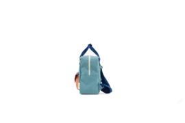Sticky Lemon Envelope Backpack small Denim blue