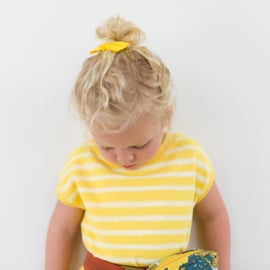 Ribbing Boordstof Habanero Yellow