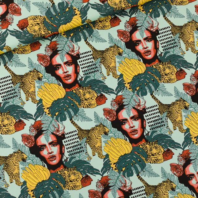 Habana Skylight Blue Cotton Canvas Gabardine Twill SYAS