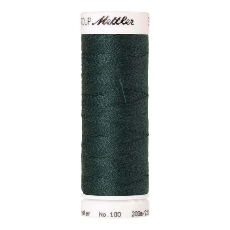1216 Amann Seralon Naaigaren Silver Pine Green