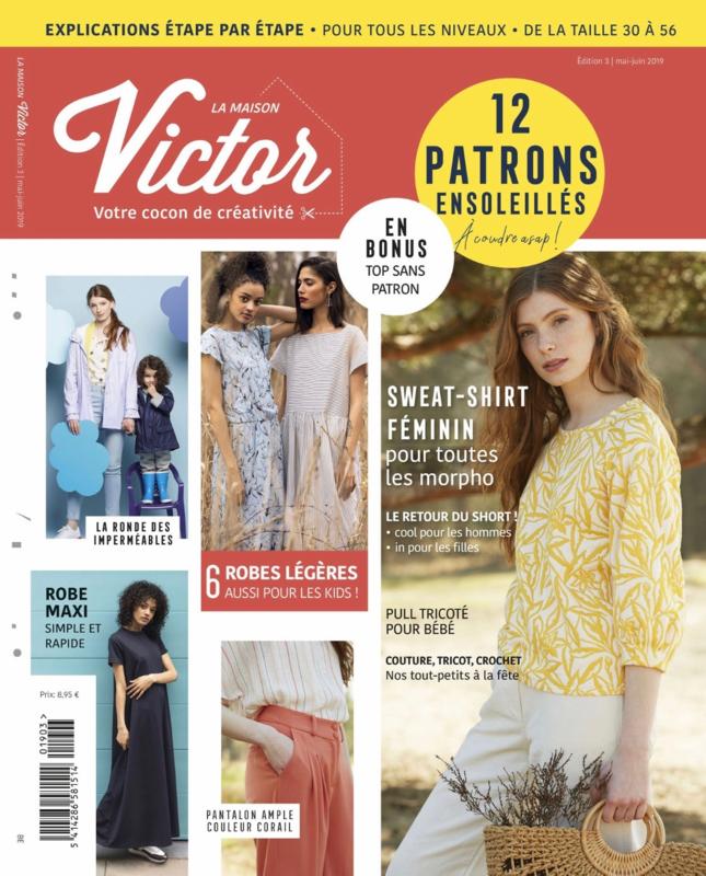 La Maison Victor editie 3 mei-juni 2019