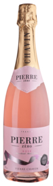 Alcoholvrij Pierre Zero Sparkling rosé (0% alcohol)