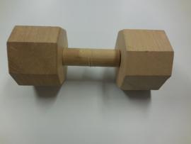 Apporteerblok hout 2000 gram