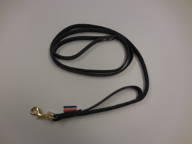 Leather leash ME 25mm x 2m