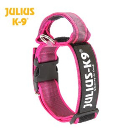 Julius K9 halsband 40mm roze