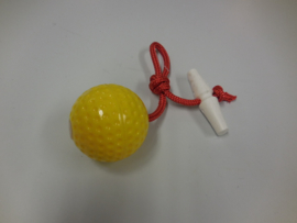Yellow ball with rope and handle S