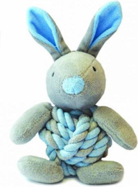 Little rascals knottie bunny blauw