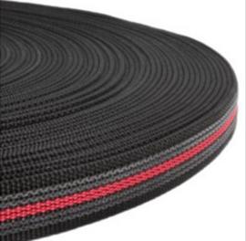 Griplijn new zwart/rood