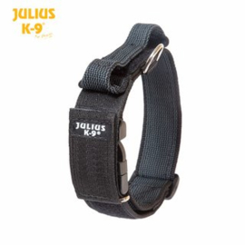Julius K9 halsband 50mm zwart