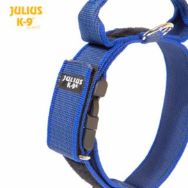 Julius K9 halsband 50mm blauw
