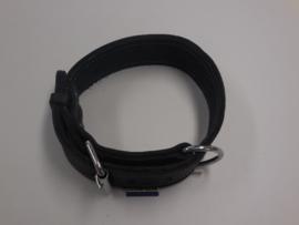 Dubbel leren halsband USA 5 x 60cm