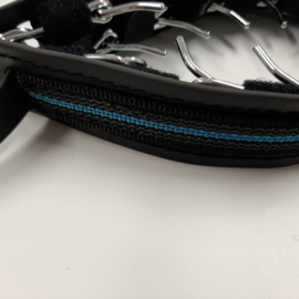 Prikband M met vaste cover, blauw