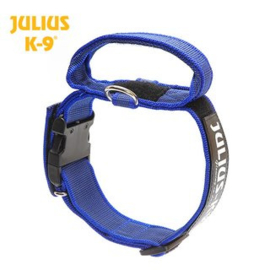 Julius K9 halsband 40mm blauw