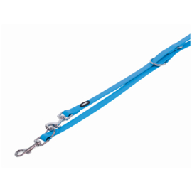 Police leash cover turquoise
