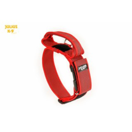 Julius K9 halsband 40mm rood