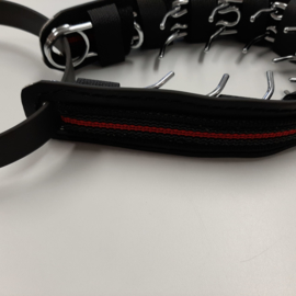 Prikband M met vaste cover, rood