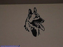 "Sticker ""malinois"""