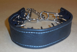 Leather cover for pinch collar L