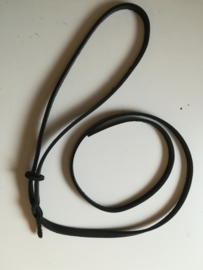 Exam leash leather with swivel