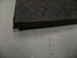 Rubber mat for carbox