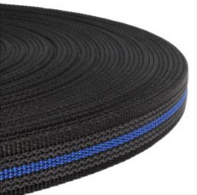 Griplijn new zwart/blauw