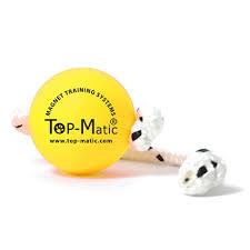 Top Matic magneet bal, geel