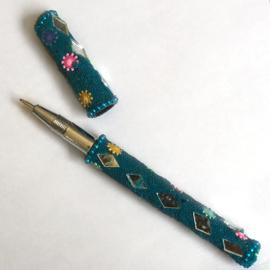 Pen van kraaltjes