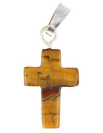 Tijgeroog kruishangertje 14 mm
