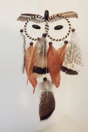 Dromenvanger bruine uil (klein), 41 x 12 cm
