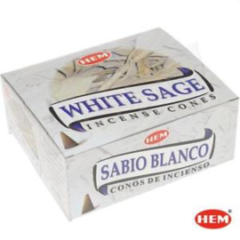 HEM White Sage wierookkegeltjes