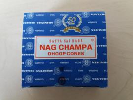 Satya Sai Baba Nag Champa wierook kegels
