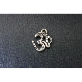 Ohm hanger, 2 cm, zilverkleurig